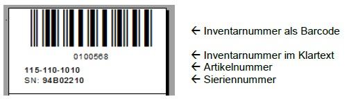 crystalreports barcode etikett f r artikel ger te gevitas. Black Bedroom Furniture Sets. Home Design Ideas